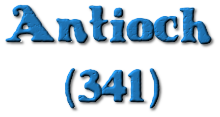 podcast 113 – the council at Antioch in 341