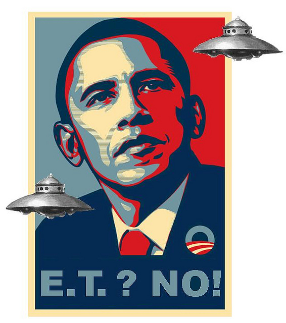 Barack Obama - not a space alien