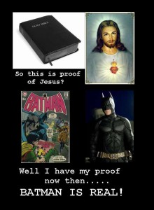 no, Jesus is not a fictional character