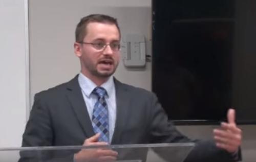 David Barron debate