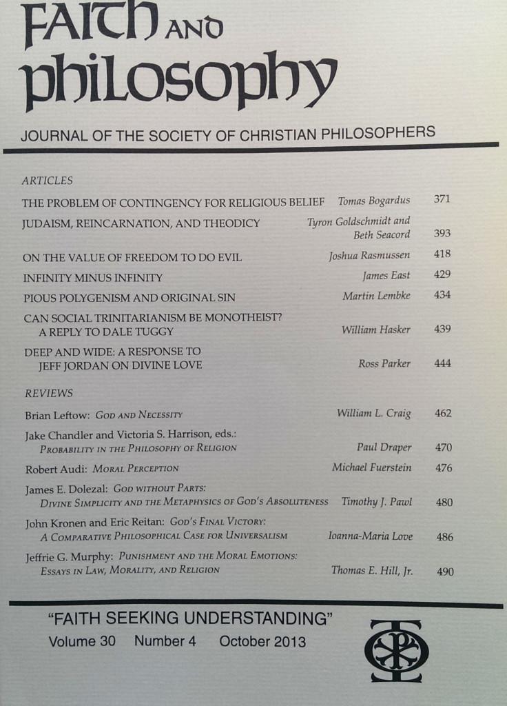Faith and Philosophy