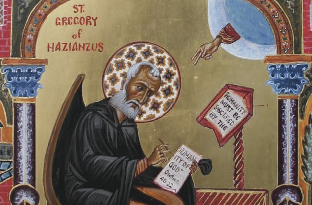 Gregory of Nazianzus icon
