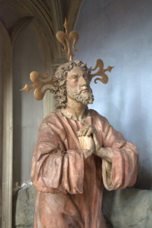 Jesus in the Augsburg cathedral