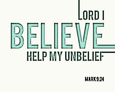 Mark 9 24