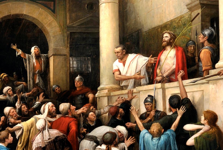 картинки хорошего разрешения иисус перед пилатом телебашня
