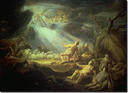 angels glory to god