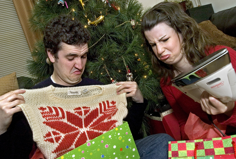 a present you should return: Christmas confusion