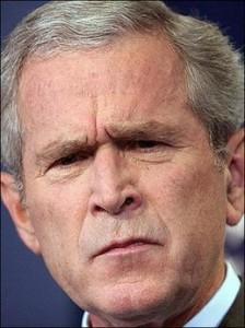 proving that Bush = Sgt. Speedo