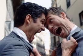 guys arguing