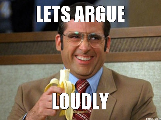 michael scott - let's argue loudly!