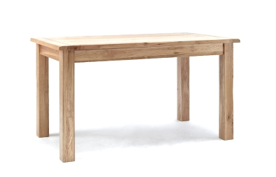 oak table or particleboard