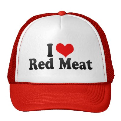 red meat hat