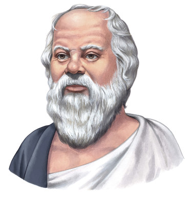 Socrates of Athens, the famous ancient philosopher, teacher of Plato