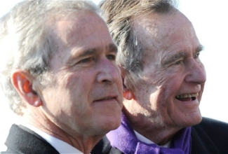 two george bushes